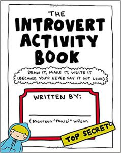 Cover image of The Introvert Activity Book